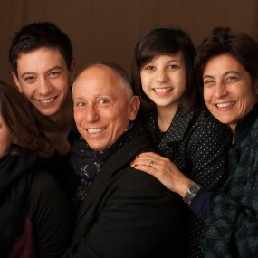 Marco Pallanti & Lorenza Sebasti mit ihren Kinder © Alessandro Moggi