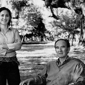 Dr. Nicolás Catena & seine Tochter Laura  © Bodegas Catena Zapata