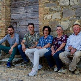 Sergio Marchetti und seine Familie © Az. Agr. Fossacolle