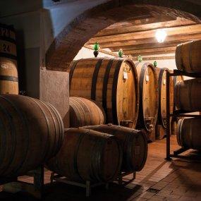 Der Weinkeller © Az. Agr. Fossacolle