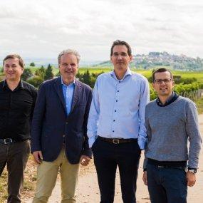 Thierry Merlet, Joost van der Does de Willebois, Philippe Modoux, Frederic Jacquet © DVP Photographe