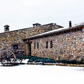 Winter am Weingut Azaya © Finca Azaya