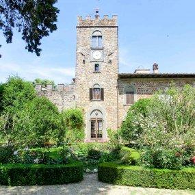 Castello di Querceto aus dem 15. Jahrhundert © Castello di Querceto