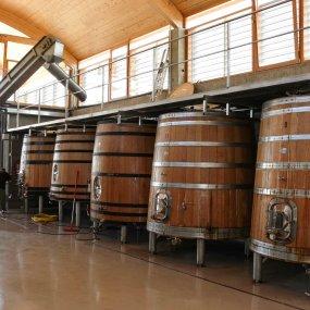 Fässer zum ausbauen des Weins © Bodegas Bernabeleva