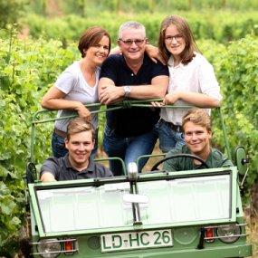 Familie Rebholz © Weingut Ökonomierat Rebholz